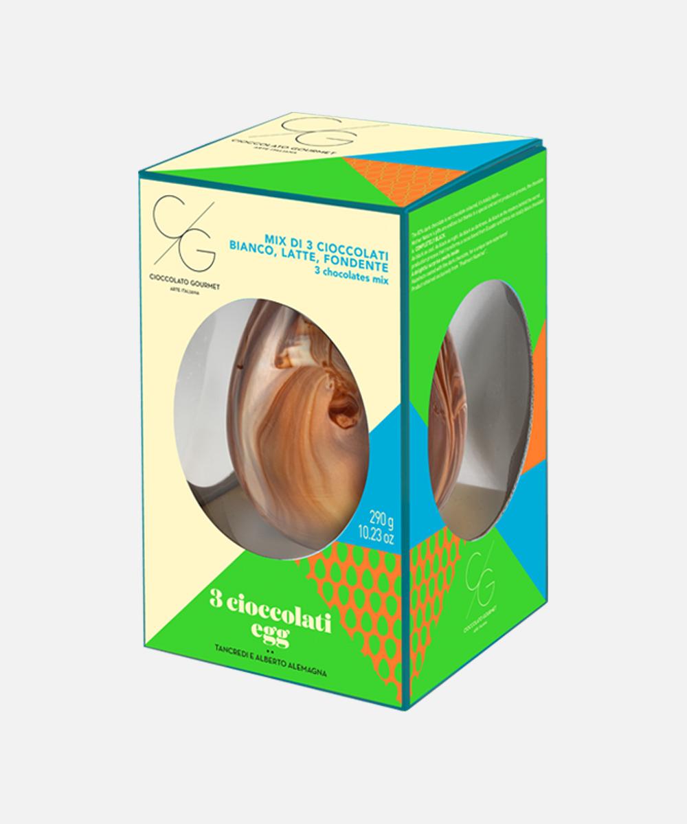 3 Cioccolati Egg